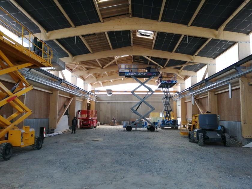 Atelier bois de la filière bois du Lycée Lachenal