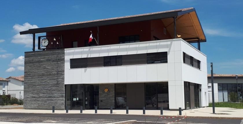 Nouvelle mairie de Génissieux (26)